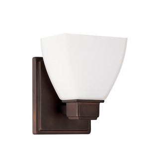 Capital Lighting Transitional 1-light Burnished Bronze Wall Sconce
