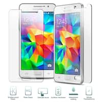 Insten Tempered Glass LCD Screen Protector Film Cover For Samsung Galaxy Grand Prime