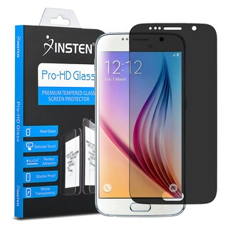 Insten Tempered Glass LCD Screen Protector Film Cover For Samsung Galaxy S6