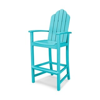 POLYWOOD Kahala Outdoor Adirondack Bar Chair