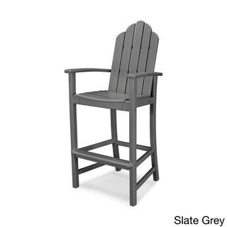 POLYWOOD Kahala Outdoor Adirondack Bar Chair