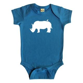 Rocket Bug Rhino Baby Bodysuit