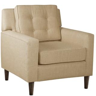 Skyline Furniture Arm Chair in Linen Sandstone
