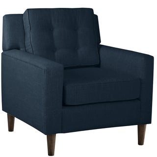 Skyline Furniture Arm Chair in Linen Navy