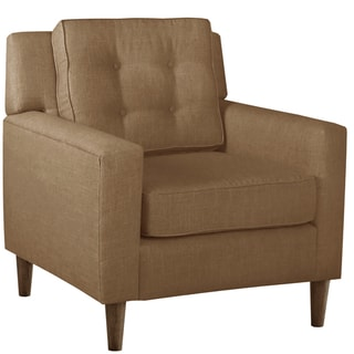 Skyline Furniture Arm Chair in Linen Taupe