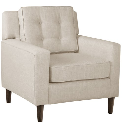 Skyline Furniture Arm Chair In Linen Talc Free Shipping Today 10925339