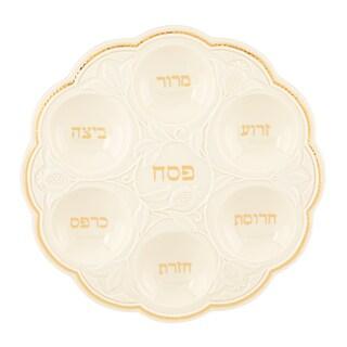 Lenox Judaic Blessings Seder Plate
