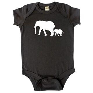 Rocket Bug Elephant Baby Bodysuit