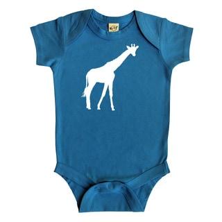 Rocket Bug Giraffe Baby Bodysuit