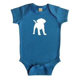 Rocket Bug Puppy Baby Bodysuit