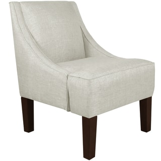 Skyline Furniture Swoop Arm Chair in Groupie Oyster