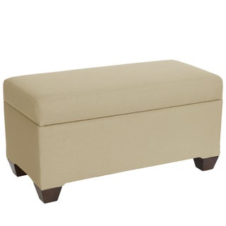 Skyline Furniture Storage Bench in Klein Ricepaper