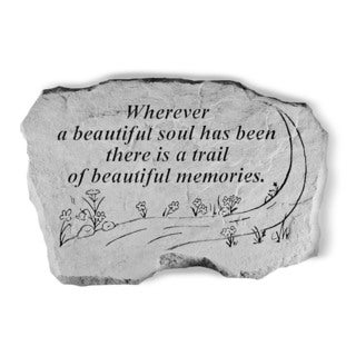 Kay Berry Wherever a Beautiful Soul Garden Accent Stone
