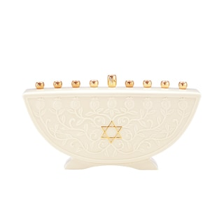 Lenox Judaic Blessings Menorah