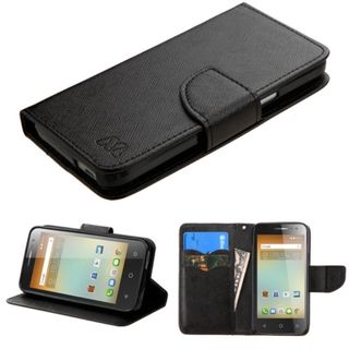 Insten Leather Case Cover with Stand/ Wallet Flap Pouch For Alcatel One Touch Elevate