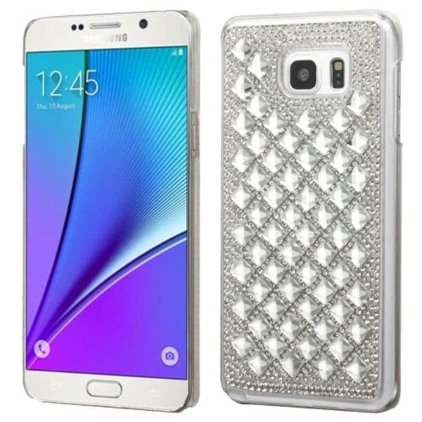 Insten Hard Snap-on Diamond Bling Case Cover For Samsung Galaxy Note 5