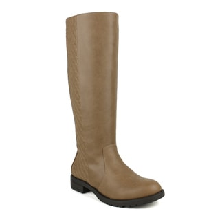 Mark and Maddux Travis-08 Quilted-Back Women's Riding Boots