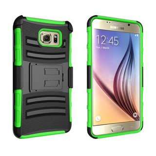 Insten Hard PC/ Silicone Dual Layer Hybrid Case Cover with Holster For Samsung Galaxy Note 5