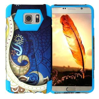 Insten Vines Hard PC/ Silicone Dual Layer Hybrid Case Cover with Stand For Samsung Galaxy Note 5