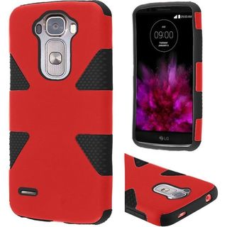 Insten Dynamic Hard PC/ Silicone Dual Layer Hybrid Rubberized Matte Case Cover For LG G Flex 2
