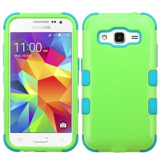Insten Tuff hard PC Silicone Dual Layer Hybrid Rubberized Matte Case Cover For Samsung Galaxy Core Prime