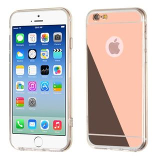 Insten Clear TPU Rubber Candy Skin Case Cover For Apple iPhone 6/6s
