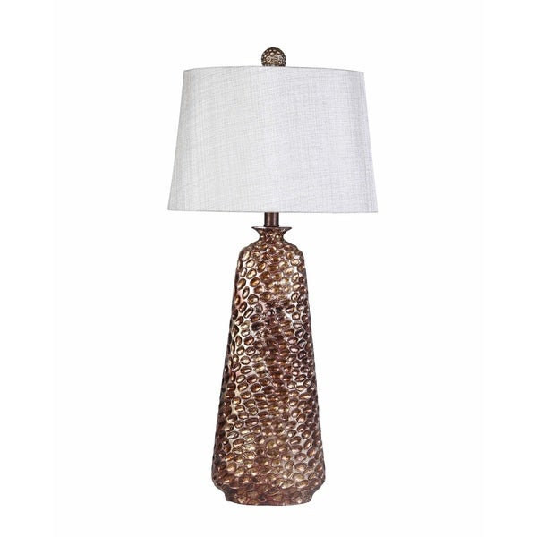 Contemporary Atlanta Table Lamp with Silver Finish