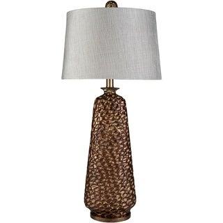 Contemporary Atlanta Table Lamp with Silver Finish
