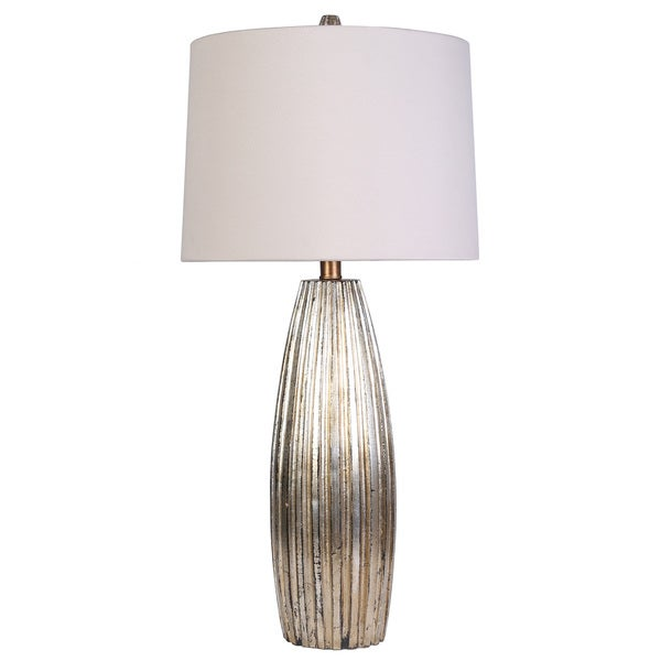 Contemporary Athens Table Lamp with Copper Finish