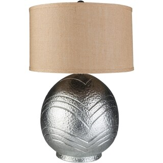 Contemporary Berlin Table Lamp with Silver Finish