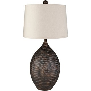 Transitional Paris Table Lamp with Bronze Finish