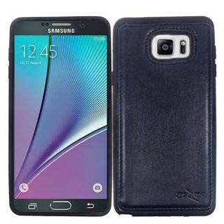Insten Leather TPU Dual Layer Hybrid Case Cover For Samsung Galaxy Note 5