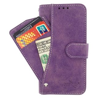 Insten Leather Case Cover Pocket wallet with Wallet Flap Pouch For HTC Desire 520