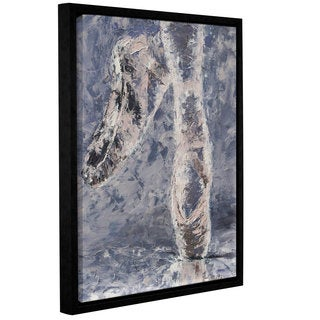 Leslie Saeta's Ballet Slippers, Gallery Wrapped Floater-framed Canvas