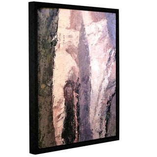 Leslie Saeta's Pointe Shoes, Gallery Wrapped Floater-framed Canvas