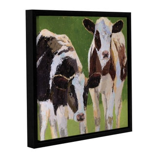 Leslie Saeta's Friends, Gallery Wrapped Floater-framed Canvas