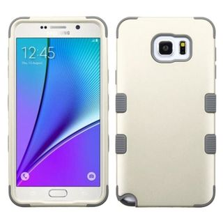 Insten Tuff Hard PC/ Silicone Dual Layer Hybrid Rubberized Matte Case Cover For Samsung Galaxy Note 5