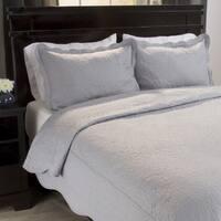Windsor Home Vivian Embroidered 3-piece Quilt Set