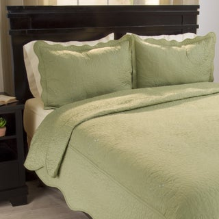 Windsor Home Vivian Embroidered 3-piece Quilt Set (More options available)