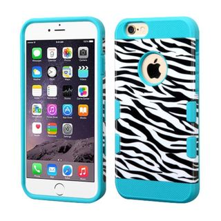 Insten Zebra Hard Snap-on Case Cover For Apple iPhone 6 Plus/ 6s Plus