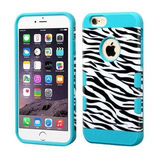 Insten Zebra Hard Snap-on Case Cover For Apple iPhone 6 Plus/ 6s Plus