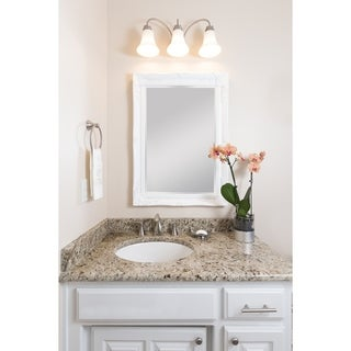 Selections by Chaumont Maissance White Traditional Mirror