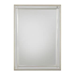 Selections by Chaumont Chelsea Champagne Rectangle Mirror