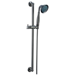 Dawn® Multifunction Handshower with slide bar, Brushed Nickel