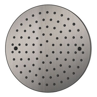 "Dawn® Single Function 8"" Round Rain Showerhead, Brushed Nickel"