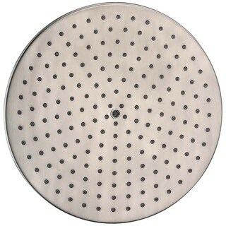 "Dawn Single Function 8"" Round Rain Showerhead, Brushed Nickel"