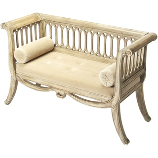 Butler Saxon Driftwood Finish English Settee