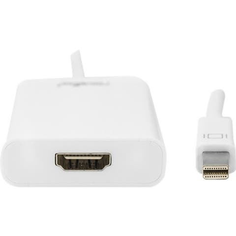 "Rocstor Mini DisplayPort/HDMI Audio/Video Adapter - Cable Length: 5.9"""