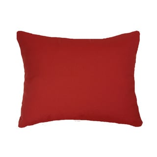 Red Indoor/ Outdoor 13x20-inch Throw Pillows (Set of 2)