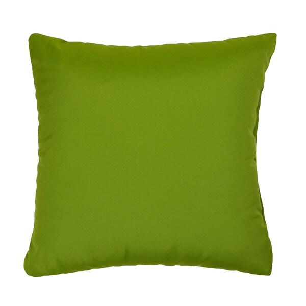 Shop Citrus Green Indoor Outdoor Square Throw Pillows